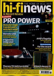 Hi-Fi News Magazine NOV 20 Order Online