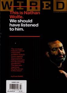 Wired Usa Magazine JUL-AUG Order Online