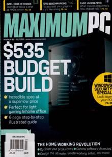 Maximum Pc Magazine JUL 20 Order Online