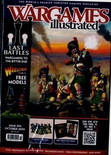 War Games Illustrated Magazine Issue NO 394