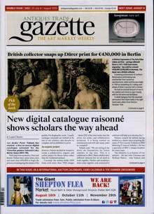 Antique Trades Gazette Magazine Issue 25/07/2020