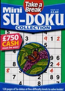 Tab Mini Sudoku Collection Magazine Issue NO 118