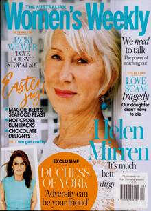 Australian Womens Weekly Magazine APR 20 Order Online