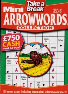 Tab Mini Arrowwords Coll  Magazine Issue NO 106
