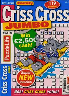 Family Criss Cross Jumbo Magazine Issue NO 88