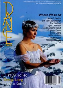 Dance Europe Magazine NO 250 Order Online
