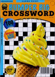 Bumper Big Crossword Magazine NO 134 Order Online