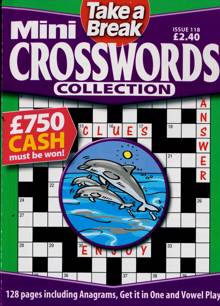 Tab Mini Crossword Coll Magazine Issue NO 118
