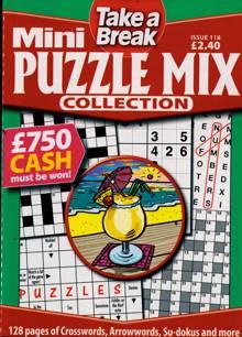 Tab Mini Puzzle Mix Coll Magazine Issue NO 118