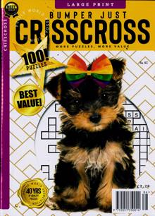 Bumper Just Criss Cross Magazine NO 85 Order Online