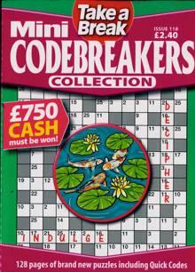 Tab Mini Codebreakers Coll Magazine Issue NO 118
