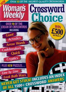 Womans Weekly Crosswo Choice Magazine NO 7 Order Online