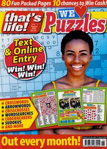 Thats Life We Love Puzzles Magazine NO 15 Order Online