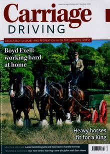 Carriage Driving Magazine AUG-SEP Order Online