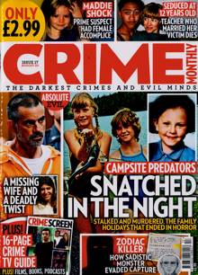 Crime Monthly Magazine NO 17 Order Online