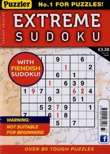 Extreme Sudoku Magazine NO 77 Order Online