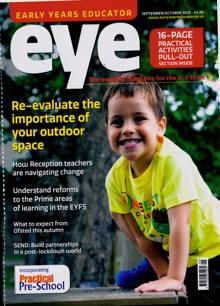Early Years Educator Magazine SEP-OCT Order Online