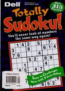 Totally Sudoku Magazine SEP 20 Order Online