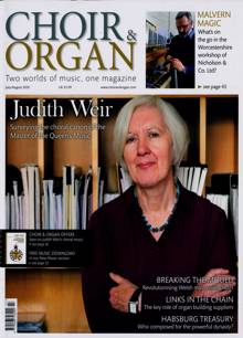Choir & Organ Magazine JUL-AUG Order Online