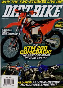 Dirt Bike Mthly Magazine AUG 20 Order Online