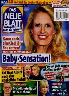 Das Neue Blatt Magazine NO 33 Order Online