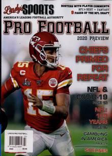 Lindys Pro Football Us Magazine 2020 Order Online