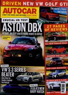 Autocar Magazine 12/08/2020 Order Online