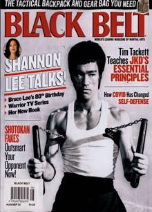 Black Belt Usa Magazine AUG-SEP Order Online