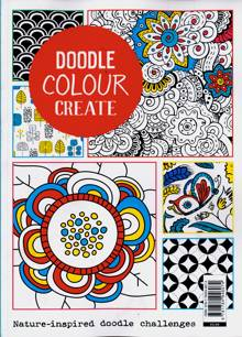 Doodle Colour Create Magazine Issue ONE SHOT