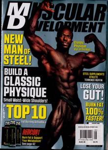 Muscular Development Usa Magazine AUG 20 Order Online