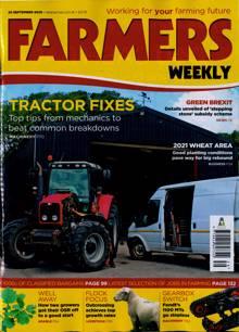 Farmers Weekly Magazine 25/09/2020 Order Online
