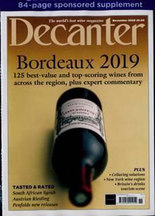 Decanter Magazine NOV 20 Order Online