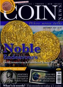 Coin News Magazine SEP 20 Order Online