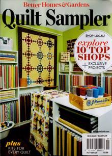 Bhg Quilt Sampler Magazine AUT/WIN Order Online