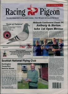 Racing Pigeon Magazine 25/09/2020 Order Online