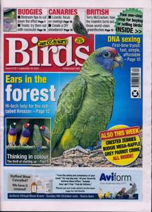 Cage And Aviary Birds Magazine 30/09/2020 Order Online