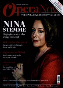 Opera Now Magazine SEP-OCT Order Online