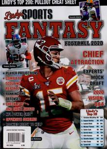 Lindys Fantasy Football  Magazine NO 2 2020 Order Online