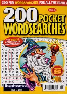 200 Pocket Wordsearches Magazine NO 64 Order Online