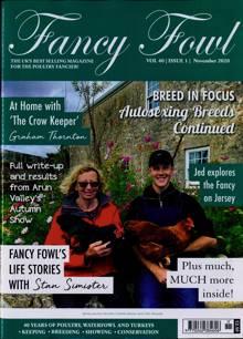 Fancy Fowl Magazine NOV 20 Order Online