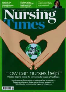 Nursing Times Magazine SEP 20 Order Online