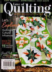 Love Of Quilting Magazine SEP-OCT Order Online