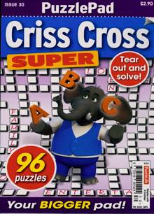 Puzzlelife Criss Cross Super Magazine NO 30 Order Online