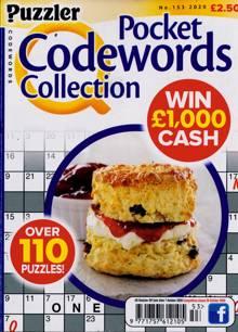 Puzzler Q Pock Codewords C Magazine NO 153 Order Online
