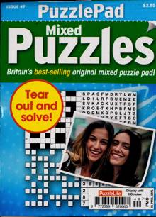 Puzzlelife Ppad Puzzles Magazine NO 49 Order Online
