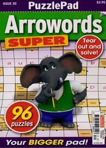 Puzzlelife Arroword Super Magazine NO 30 Order Online