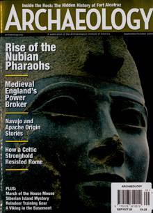 Archaeology Magazine SEP-OCT Order Online