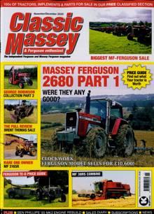 Classic Massey Ferguson Magazine NOV-DEC Order Online