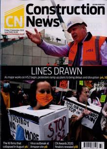 Construction News Magazine 11/09/2020 Order Online