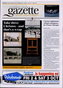 Antique Trades Gazette Magazine 19/09/2020 Order Online